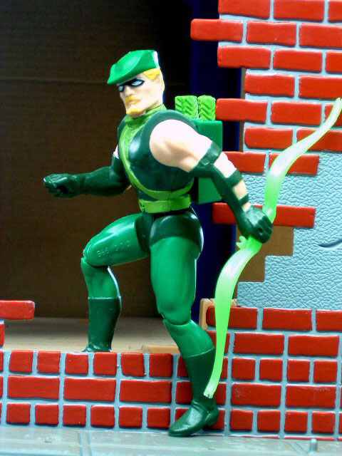 DC Super Powers Green Arrow Complete