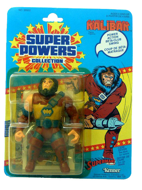 DC Super Powers Kalibak Sealed Mint on Card