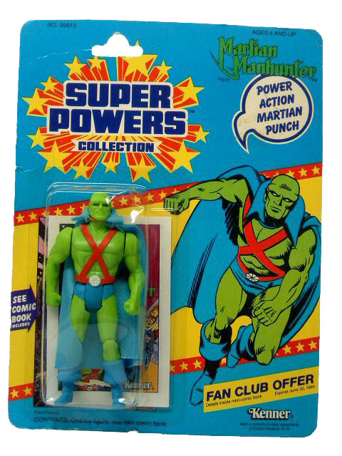 DC Super Powers Martian Manhunter Sealed Mint on Card