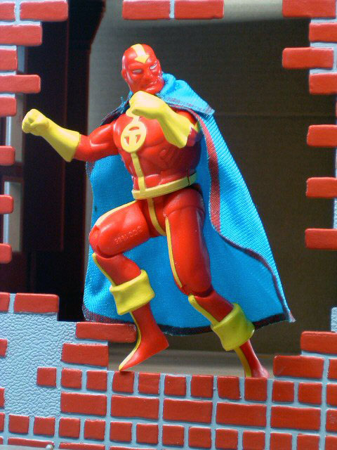 DC Super Powers Red Tornado Complete