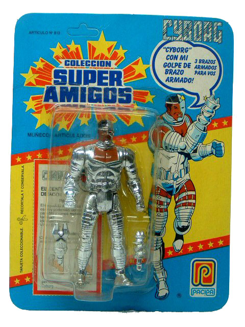 DC Super Powers Super Amigos Cyborg Sealed Mint on Card