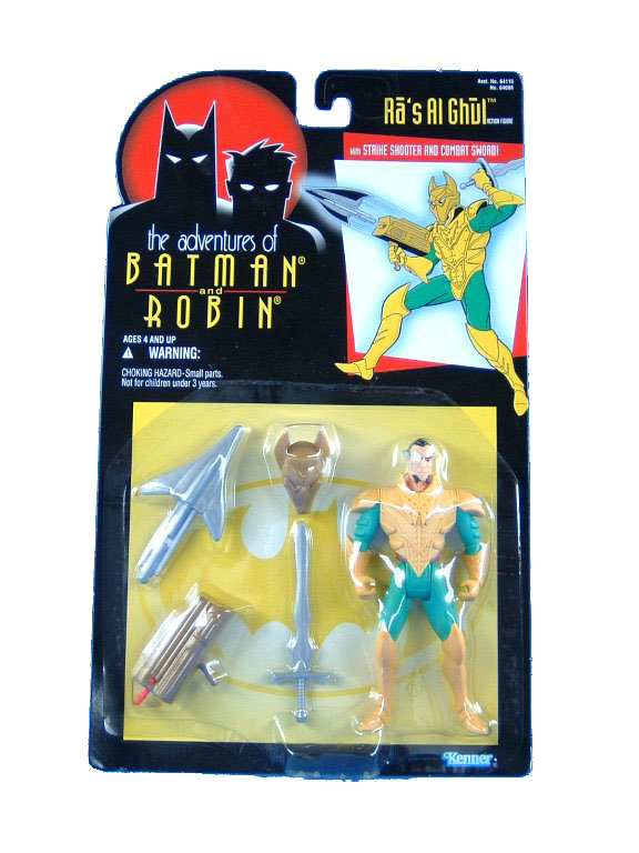 Batman The Animated Series Ra's Al Ghul Mint on Card