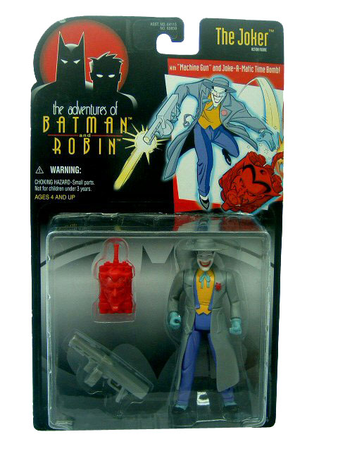 Batman The Animated Series The Joker with Trench Coat Sealed