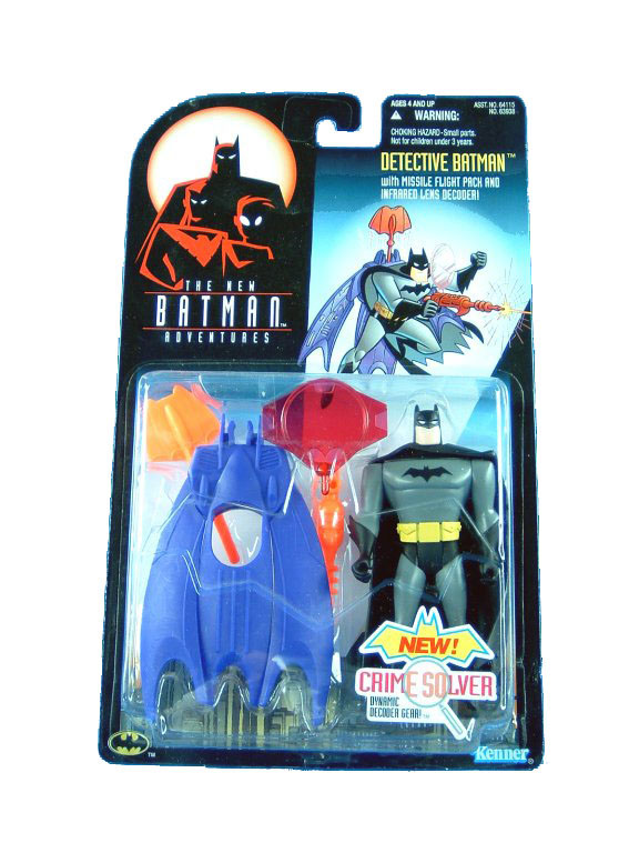 Batman The Animated Series Detective Batman Mint on Card