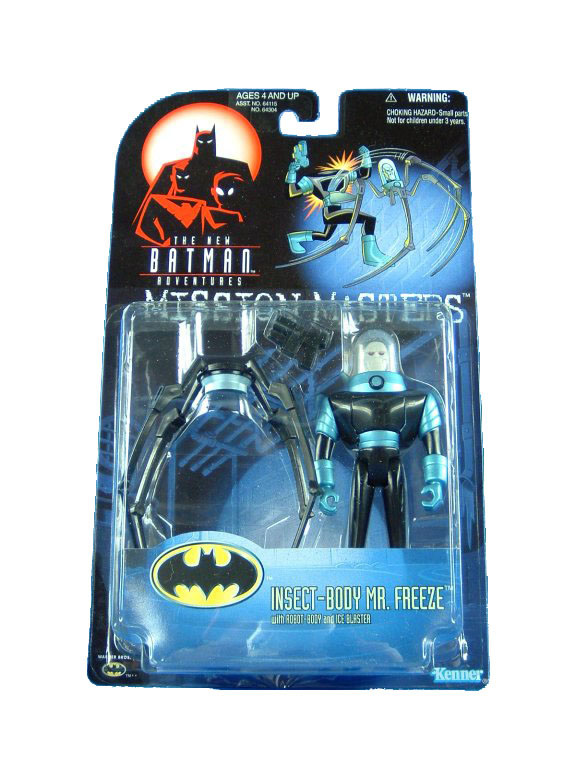Batman The Animated Series Insect Body Mr. Freeze Mint on Card