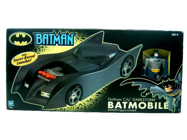 Batman The Animated Series Toys R Us Darkstorm Batmobile MIB