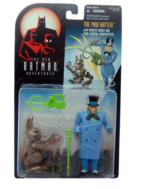 Batman The Animated Series The Mad Hatter Mint on Card