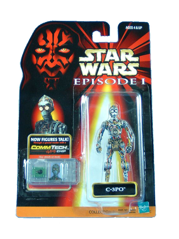 1999 Star Wars Episode I Phantom Menace C-3PO Sealed MOC