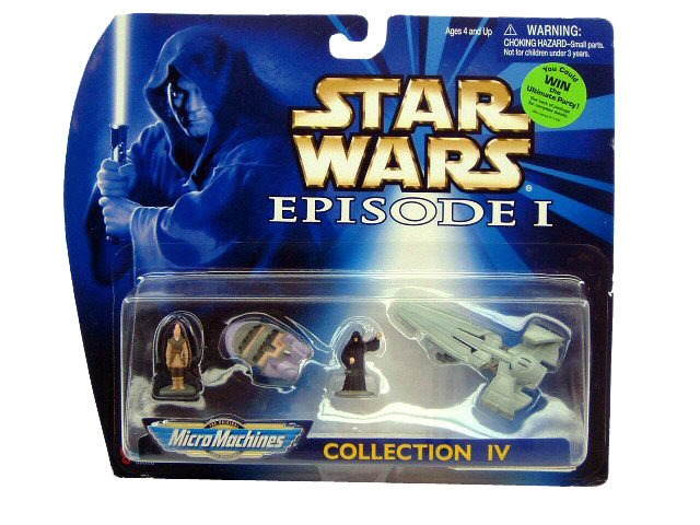 Star Wars Micro Machines Episode I Collection IV Sealed