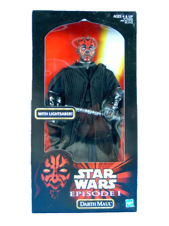 "1999 Star Wars Episode I The Phantom Menace 12"" DARTH MAUL MISB"