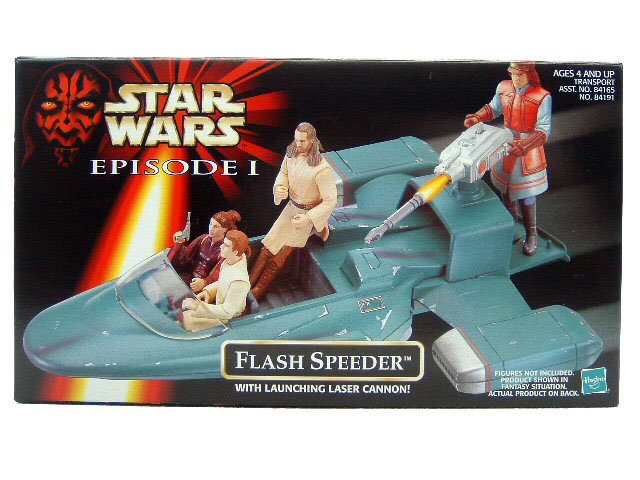 1999 Star Wars Episode I Phantom Menace FLASH SPEEDER Sealed