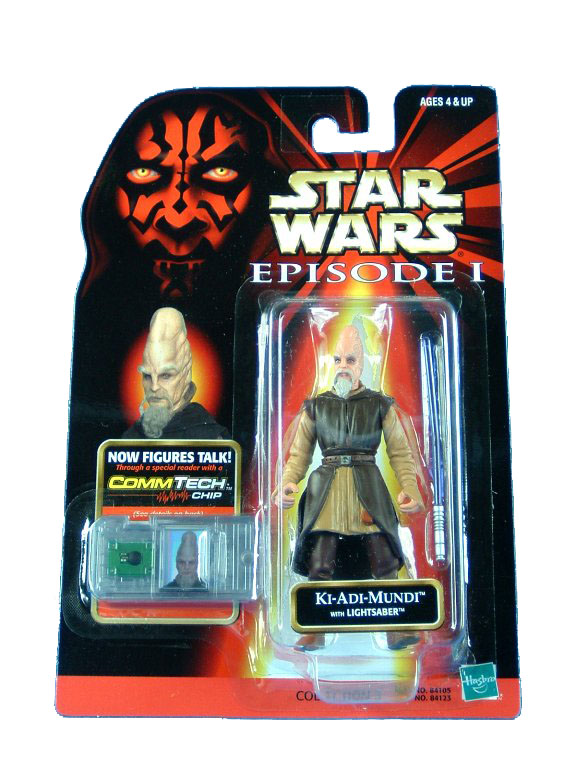 1999 Star Wars Episode I Phantom Menace KI-ADI-MUNDI Sealed MOC