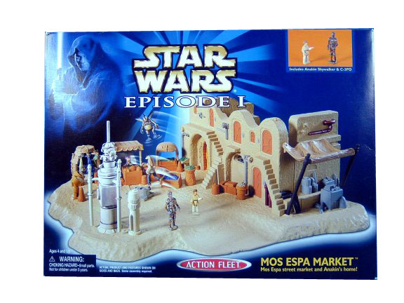 Star Wars Micro Machines Episode I Mos Espa Market Sealed