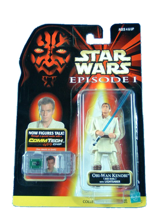1999 Star Wars Episode I Phantom Menace OBI-WAN KENOBI JEDI DUEL