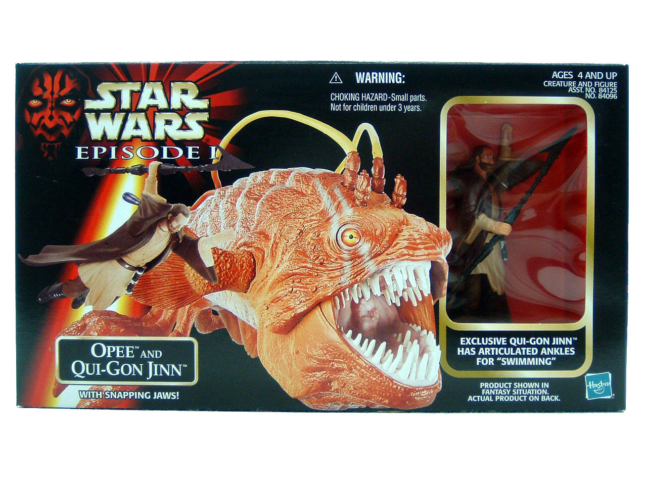 1999 Star Wars Episode I Phantom Menace OPEE & QUI-GON JINN MISB