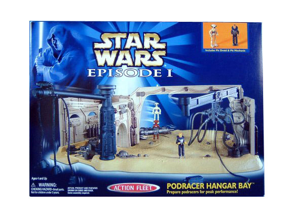 Star Wars Micro Machines Episode I Podrace Hangar Bay Sealed