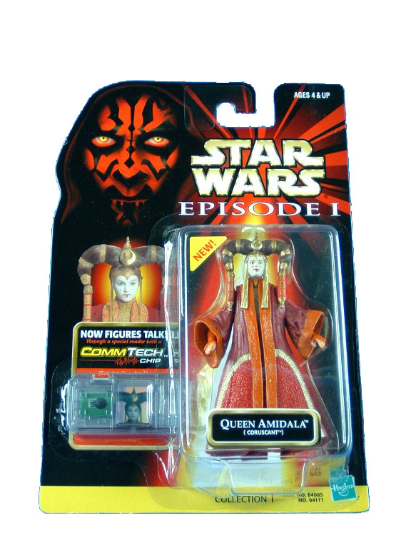 1999 Star Wars Episode I Phantom Menace QUEEN AMIDALA CORUSCANT