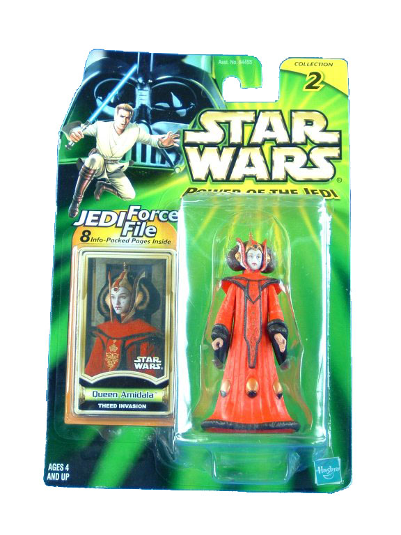 2000 Star Wars Power of the Jedi QUEEN AMIDALA THEED INVASION