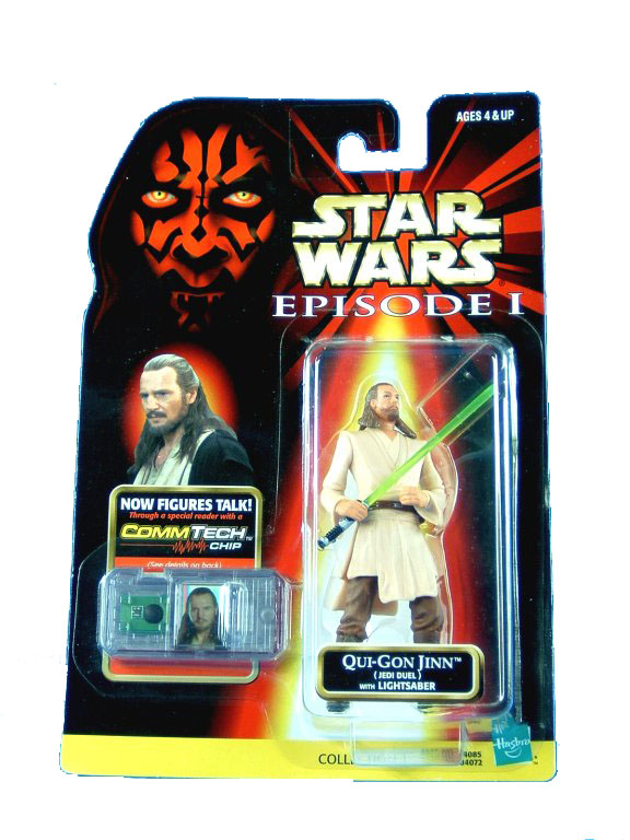1999 Star Wars Episode I Phantom Menace QUI-GON JINN JEDI DUEL