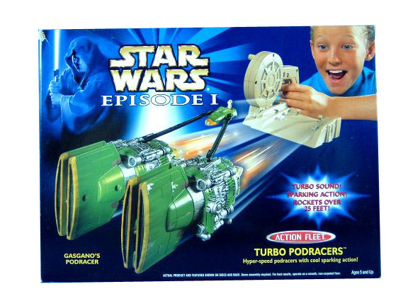 Star Wars Micro Machines Turbo Podracers Gasgano Podracer
