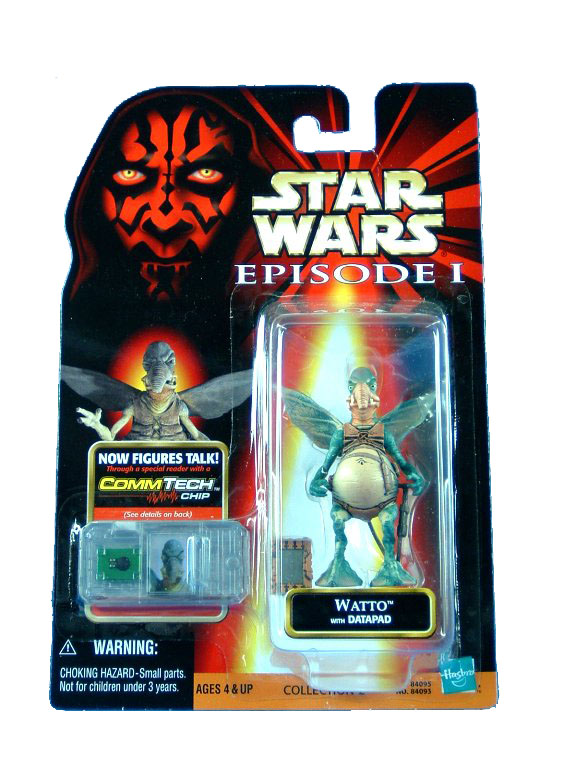 1999 Star Wars Episode I Phantom Menace WATTO Sealed MOC