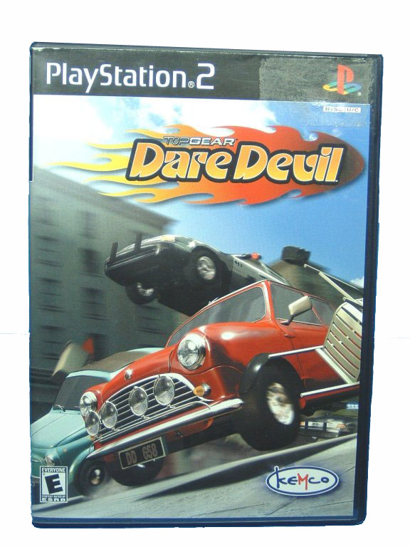 PS2 Top Gear Dare Devil Complete - 2000