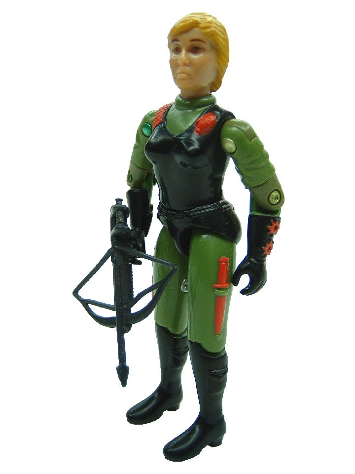 GIJoe United Kingdom Action Force Quarrel Complete