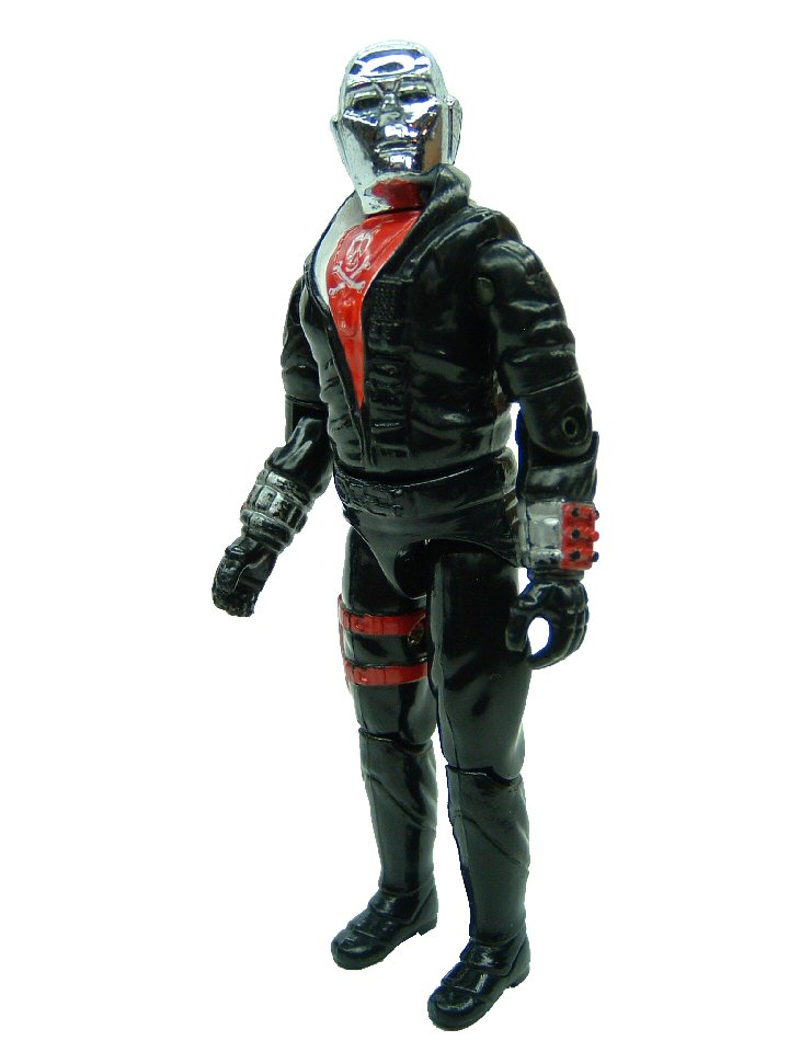 GIJoe United Kingdom Action Force Red Jackal Complete