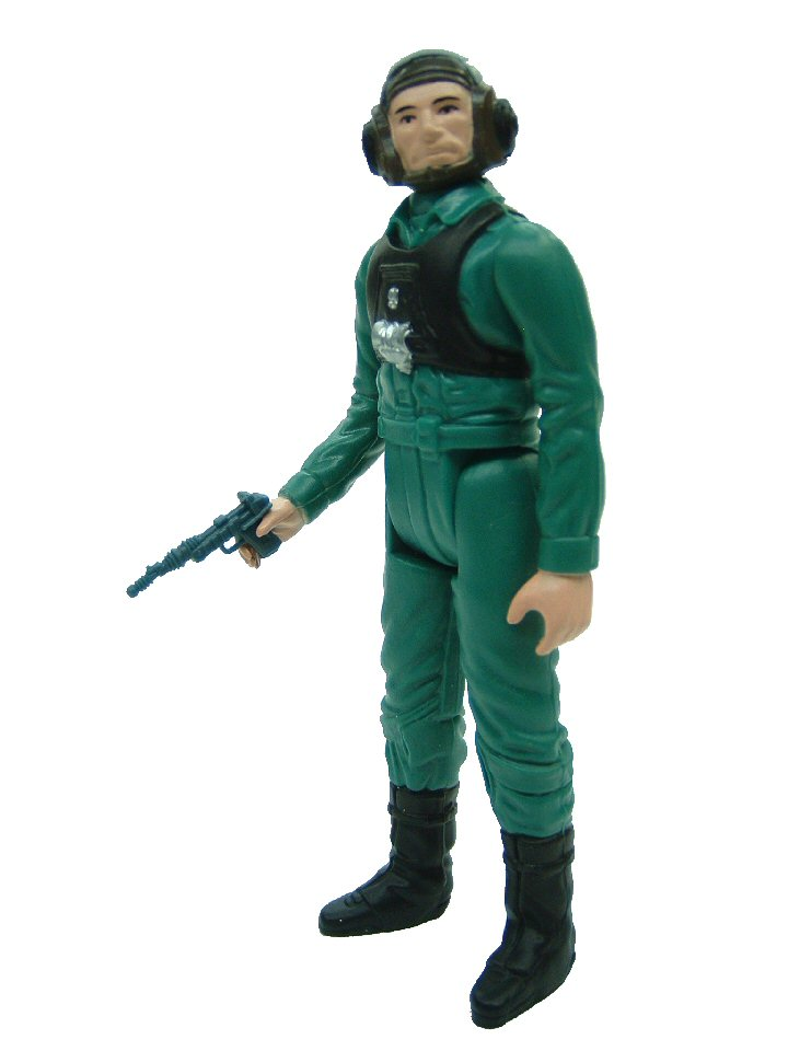 1984 Star Wars Power of the Force A-WING PILOT Complete