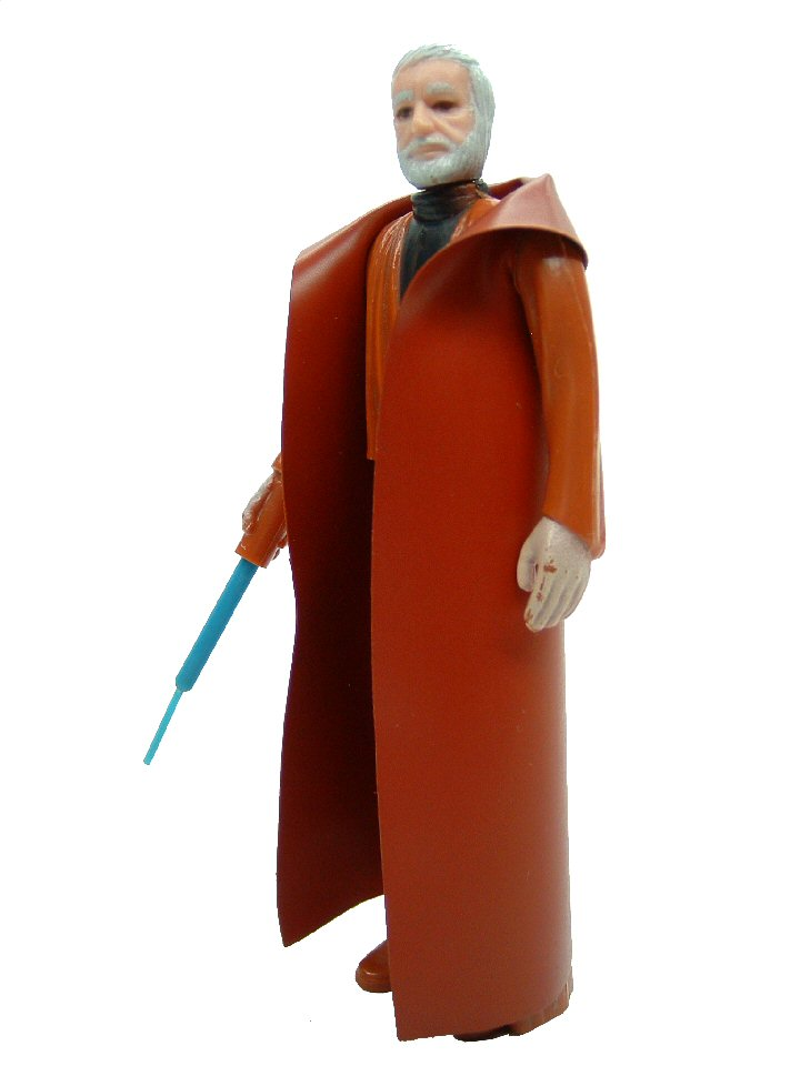 1977 Star Wars BEN OBI-WAN KENOBI White Hair Complete