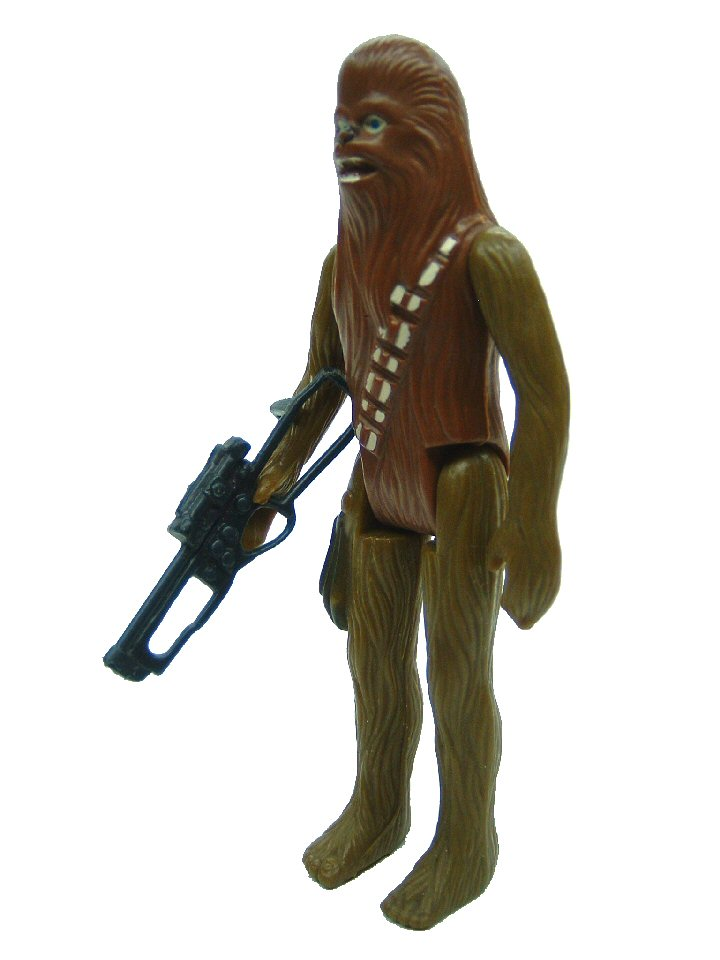 1977 Star Wars CHEWBACCA Green Arm Variant Complete