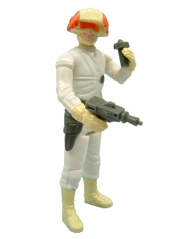 1981 Star Wars CLOUD CAR PILOT Complete