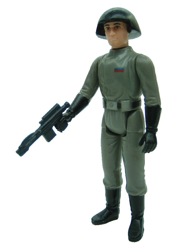 1977 Star Wars DEATH SQUAD STAR DESTROYER COMMANDER Complete