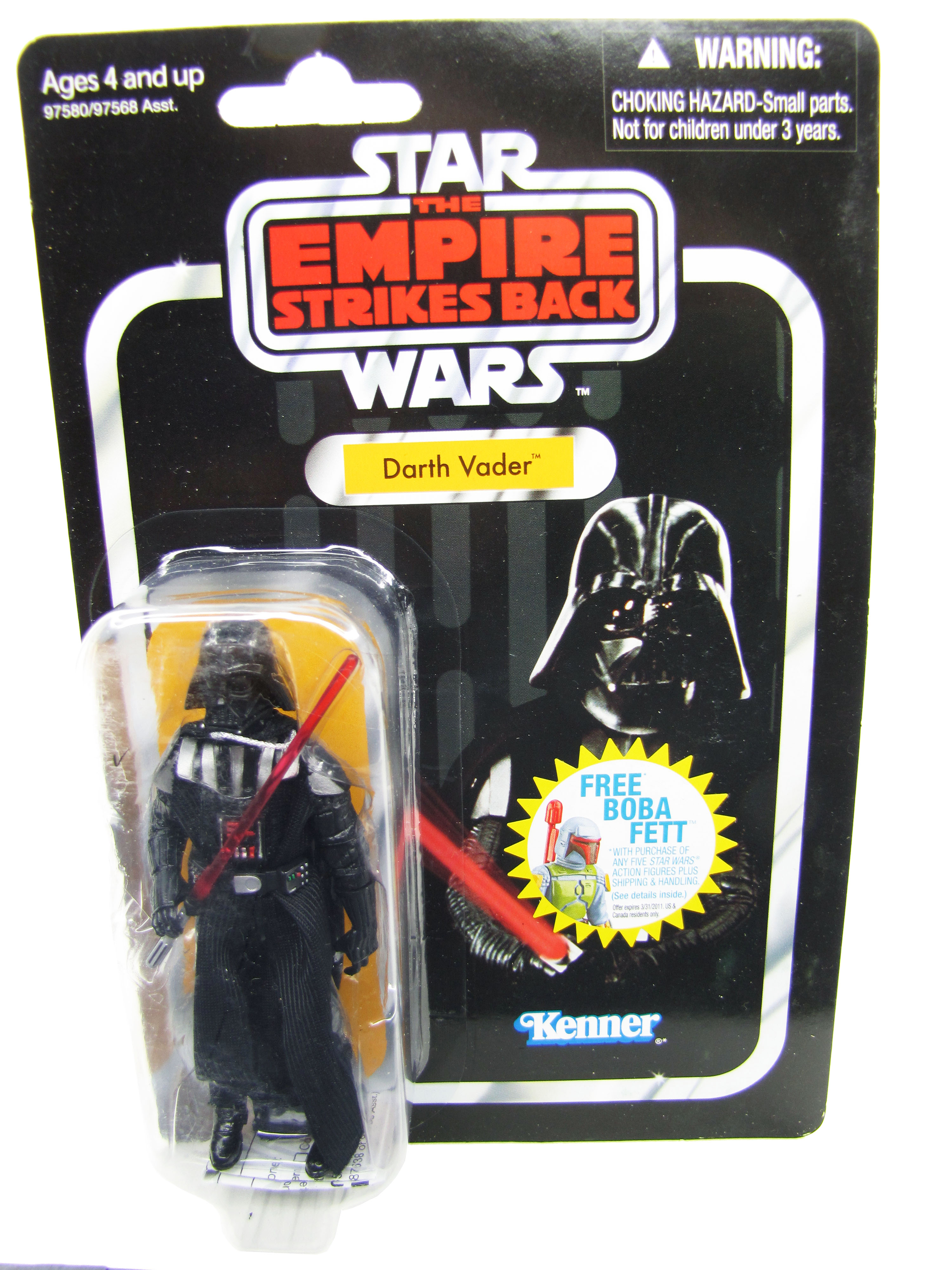 2010 Star Wars Vintage Collection ESB DARTH VADER MOC