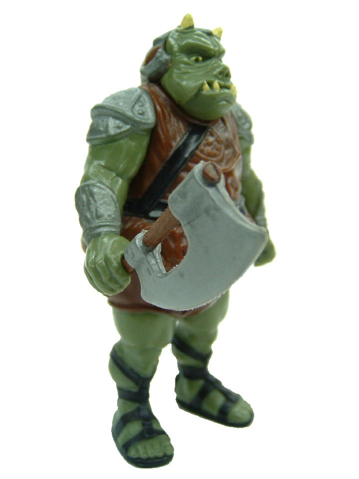 1983 Star Wars GAMORREAN GUARD Complete