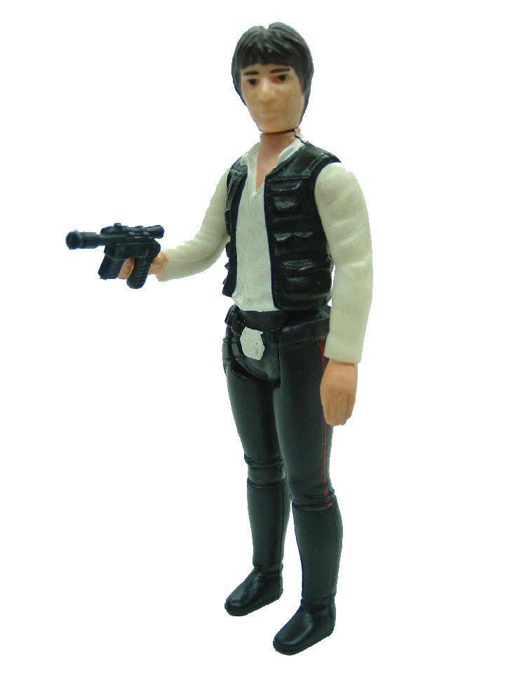1977 Star Wars HAN SOLO Large Head Variant Complete