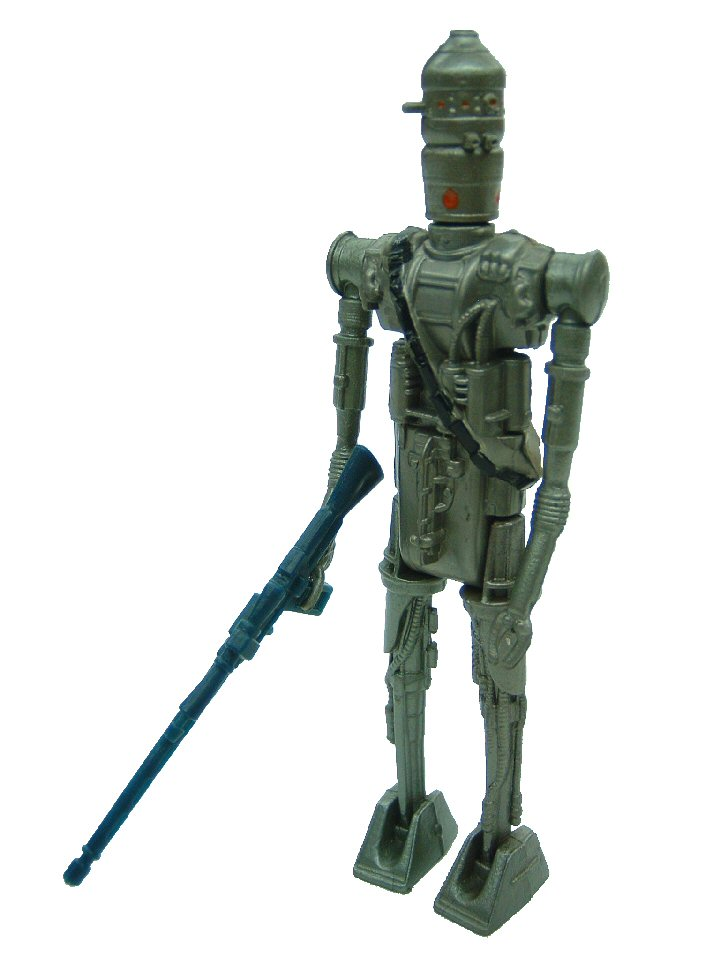 1980 Star Wars IG-88 BOUNTY HUNTER Complete