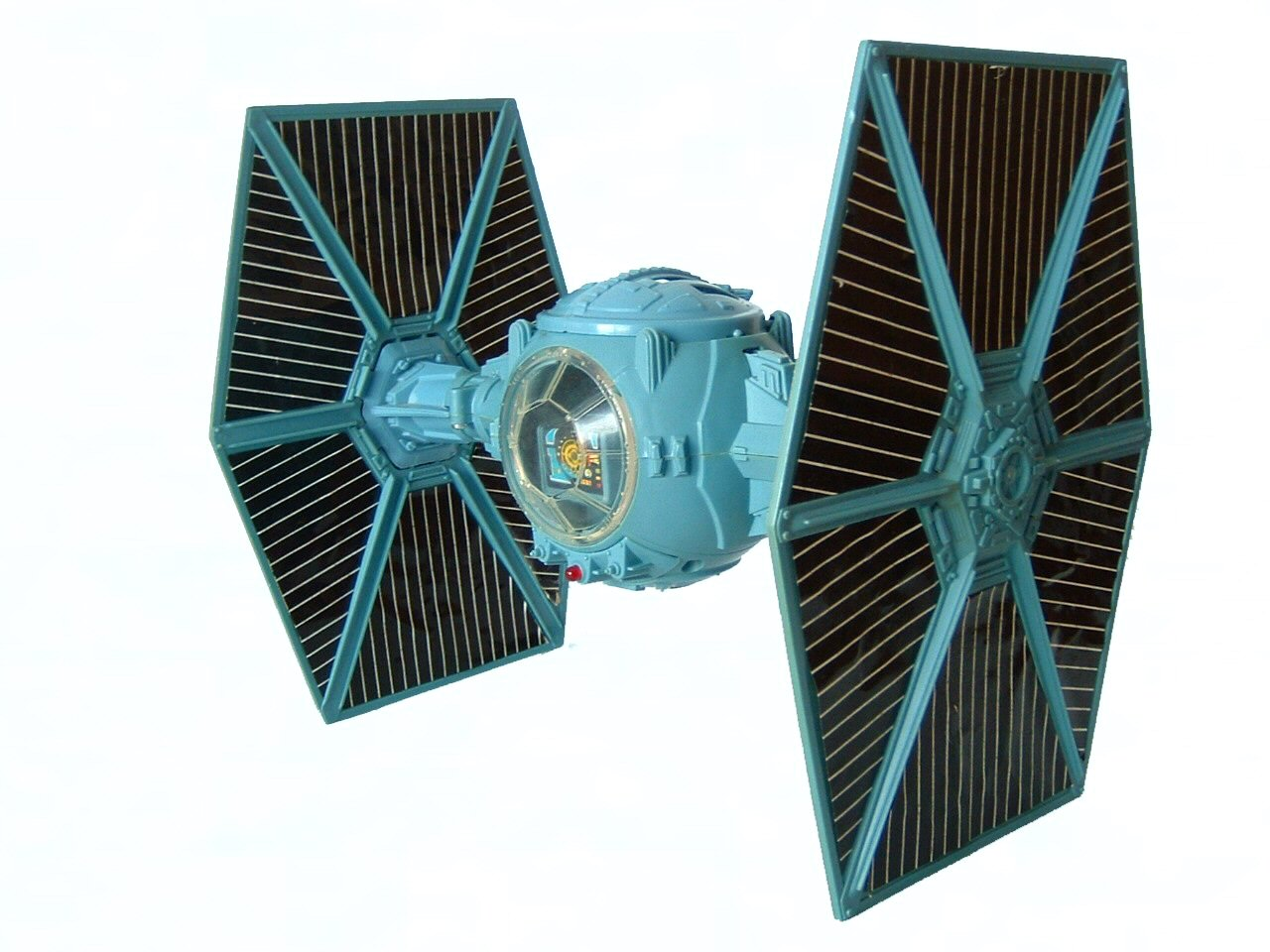 1978 Star Wars TIE FIGHTER BLUE Complete