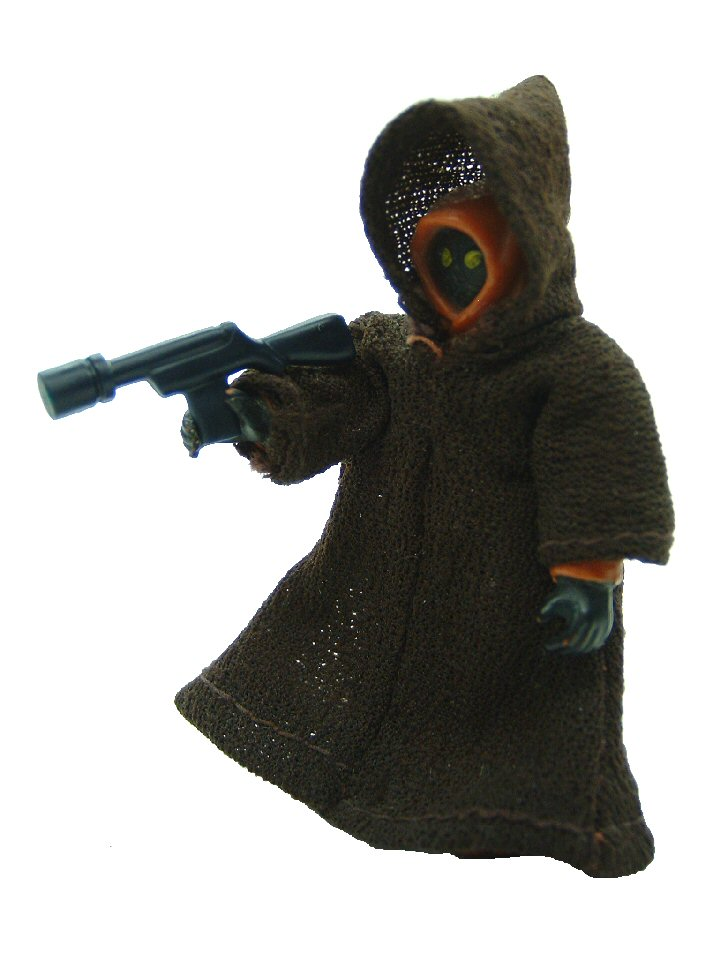 1977 Star Wars JAWA Fabric Robe Complete