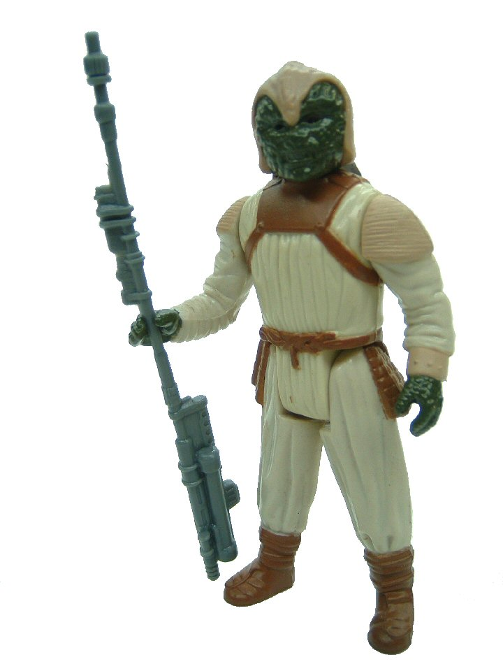 1983 Star Wars KLAATU IN SKIFF GUARD OUTFIT Complete