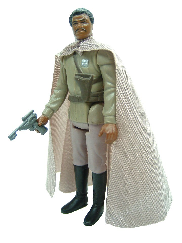1985 Star Wars Power of the Force LANDO CALRISSIAN GENERAL PILOT