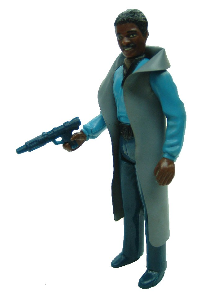 1980 Star Wars LANDO CALRISSIAN Teeth Variant Complete
