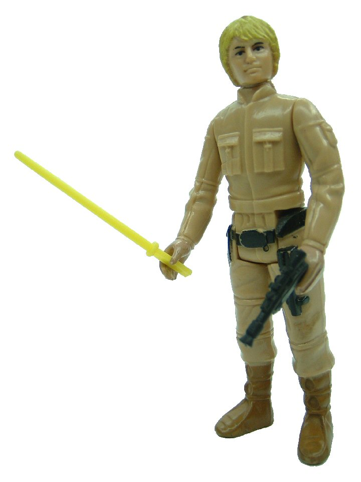 1980 Star Wars LUKE SKYWALKER BESPIN FATIGUES Blonde Complete