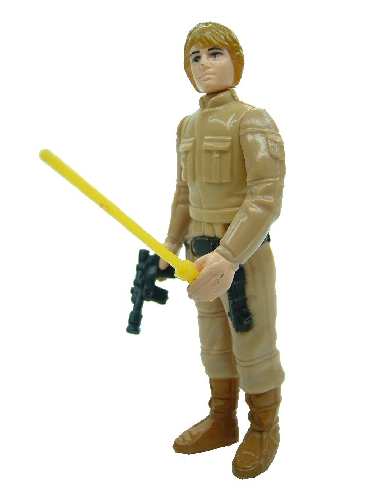 1980 Star Wars LUKE SKYWALKER Bespin Fatigues Brown Complete