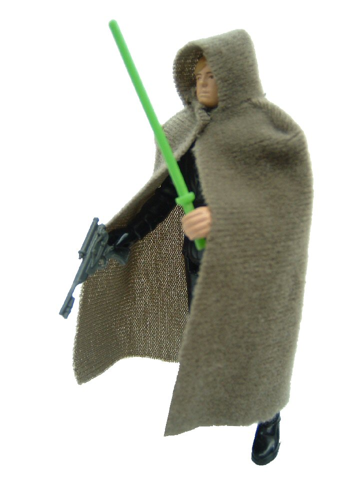 1983 Star Wars LUKE SKYWALKER JEDI KNIGHT OUTFIT Complete