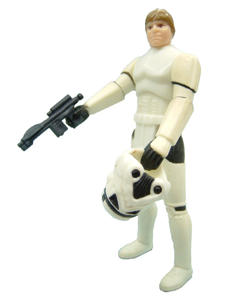 1984 Star Wars Power of the Force LUKE SKYWALKER STORMTROOPER