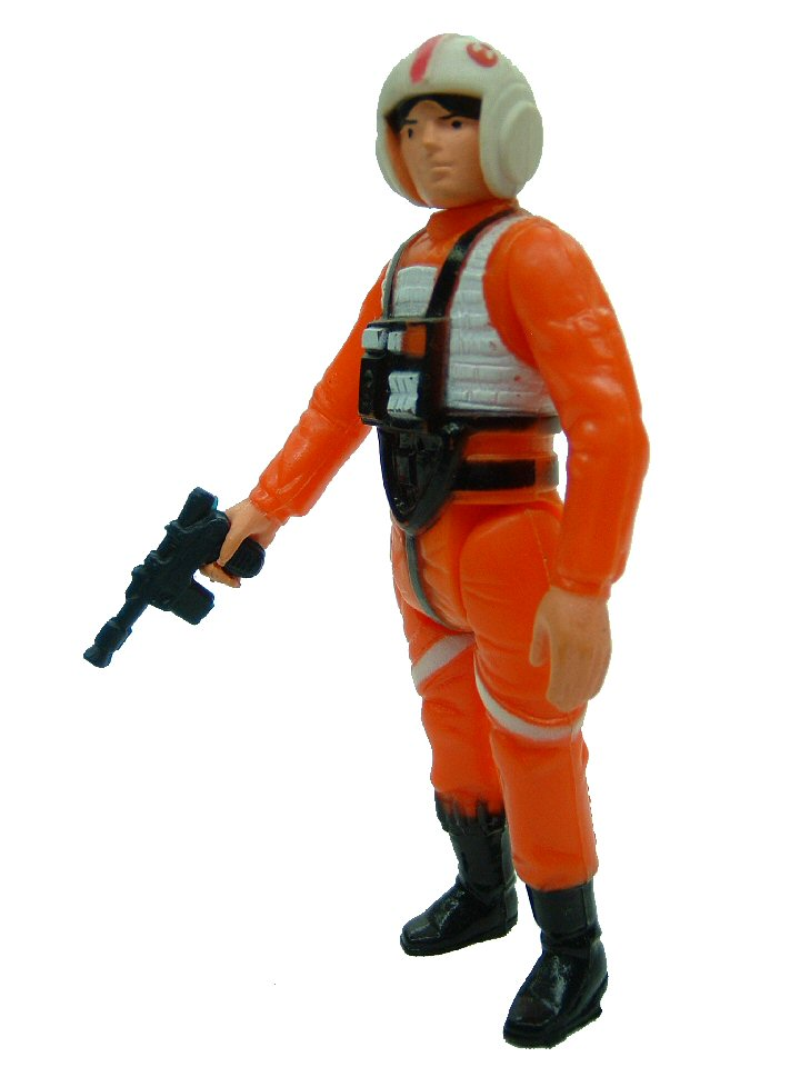 1978 Star Wars LUKE SKYWALKER X-WING FIGHTER PILOT Complete