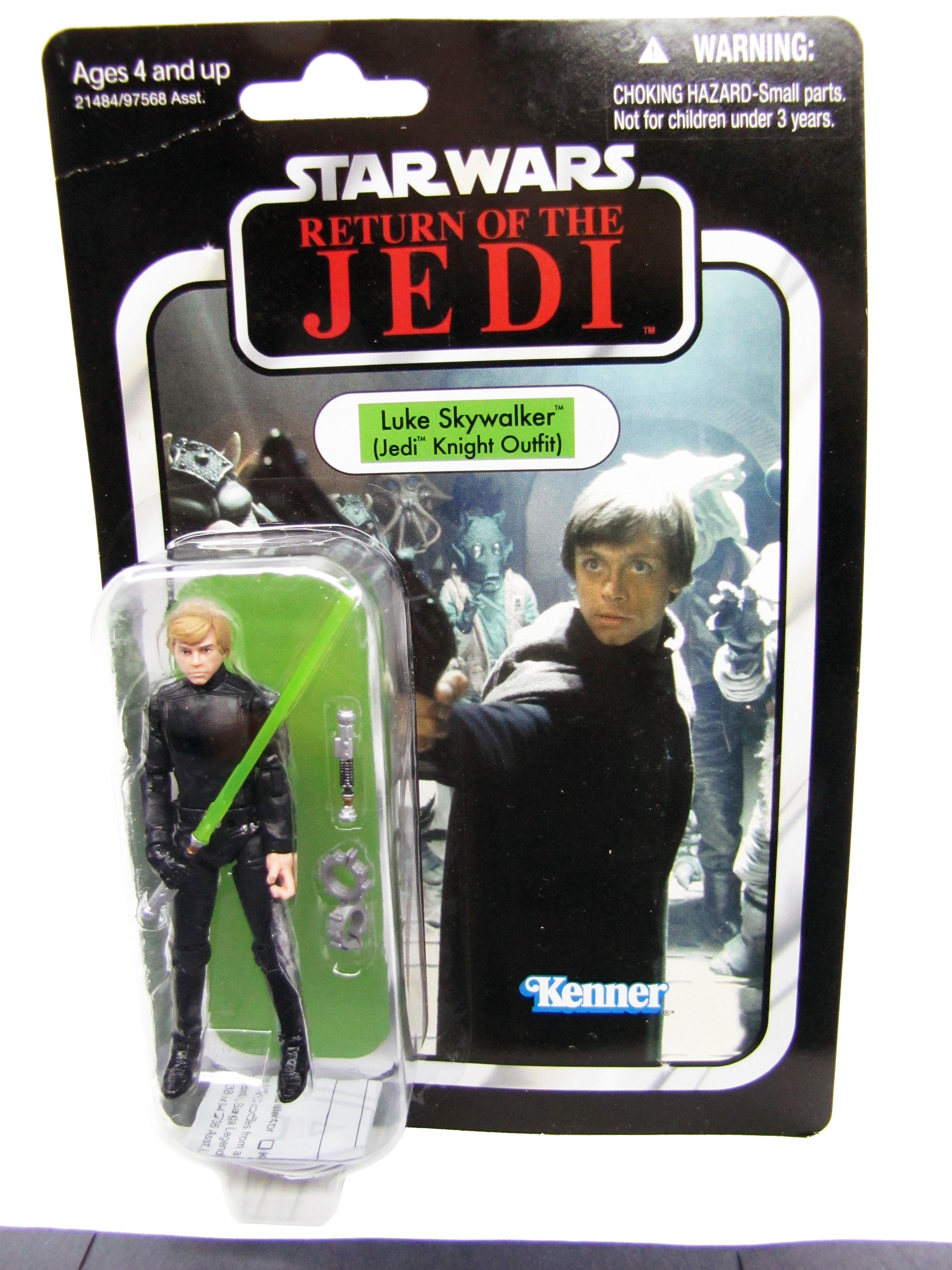 2010 Star Wars Vintage Collection ROTJ LUKE SKYWALKER JEDI MOC