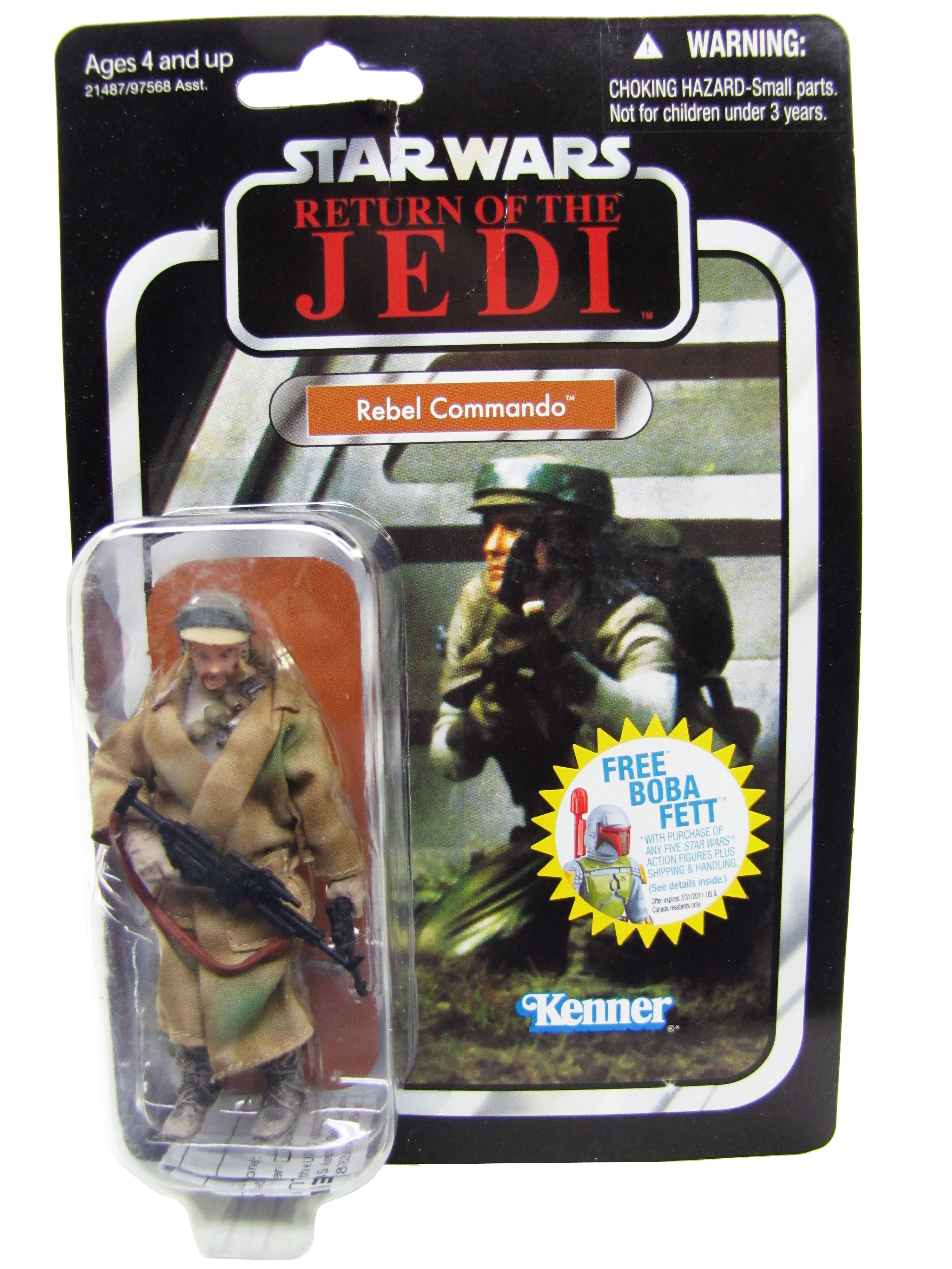 2011 Star Wars Vintage Collection ROTJ REBEL COMMANDO I MOC