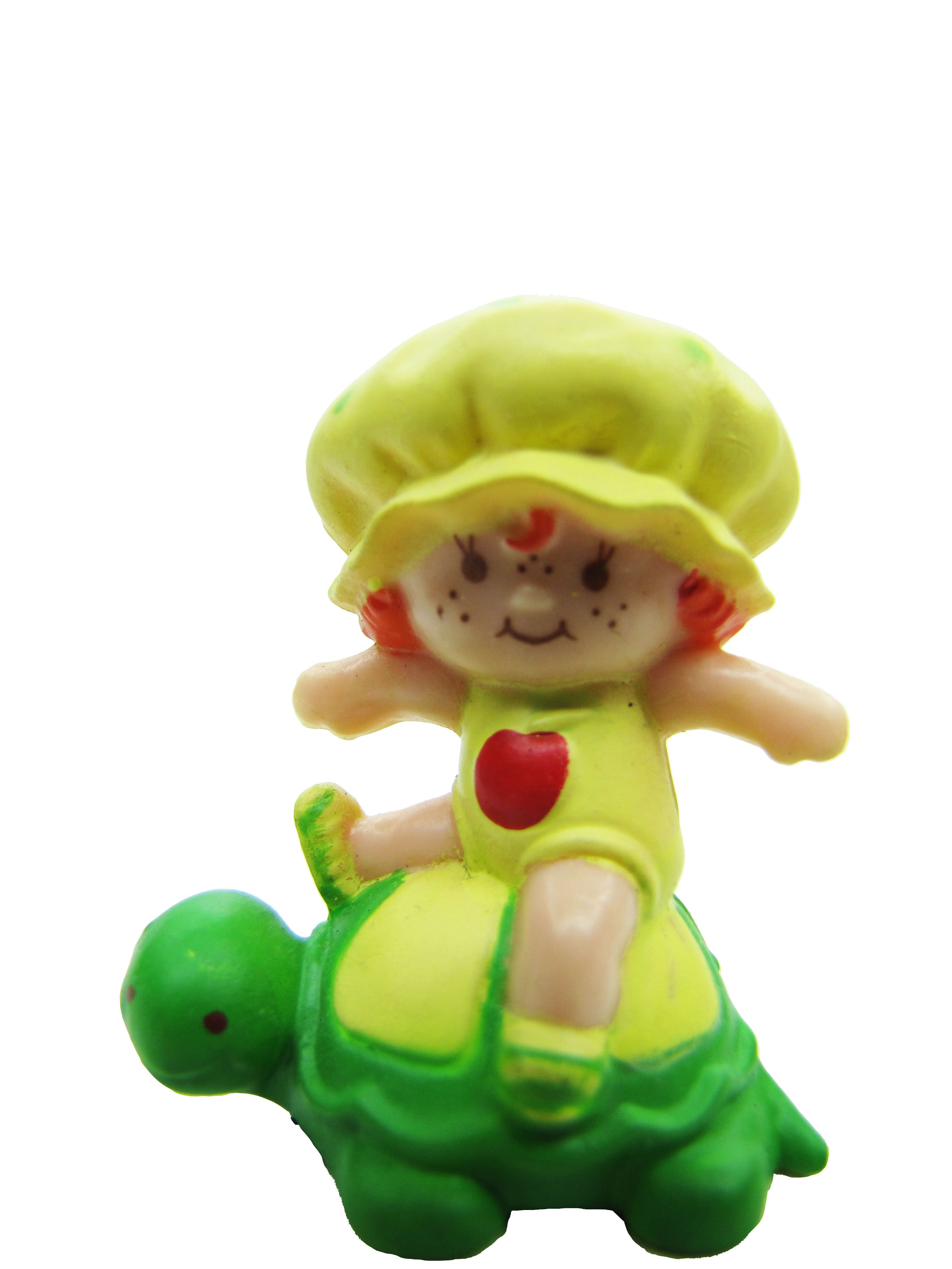 Vintage Strawberry Shortcake Apple Dumpling on Tea Time Turtle